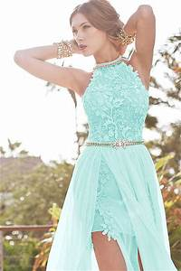 babyonline aqua lace semi formal dresses long evening With semi formal dresses wedding