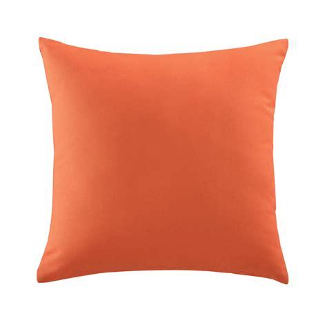 orange outdoor cushion 50 x 50 cm maisons du monde