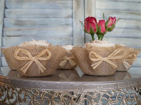 decoration a essai mariage custom wedding accessories burlap cupcake wrappers 100 raffia papers unique decor wedding
