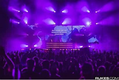 Club Rock Stage Concert Djs Audience Night