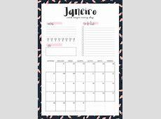 Planner 2018 para imprimir mensal — Love is Colorful