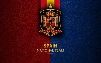Football Spain Team National Emblem Leather 4k