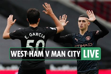 West Ham vs Man City: Live stream FREE, TV channel, teams ...
