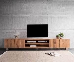 Live Edge Möbel : fernsehtisch live edge akazie natur 300 cm 4 t ren 2 f cher baumkante lowboard ~ Sanjose-hotels-ca.com Haus und Dekorationen