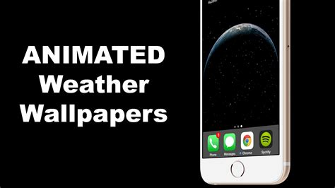 Animated Weather Wallpaper Iphone - how to add changing animated weather wallpapers for ios 8