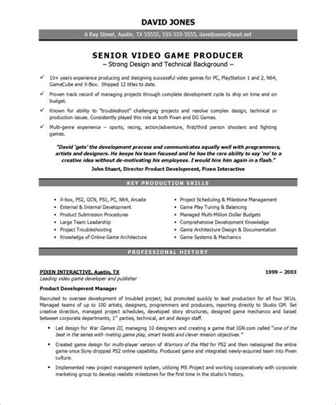 Entertainment Resume Template by Producer Page1 Entertainment Resumes Free