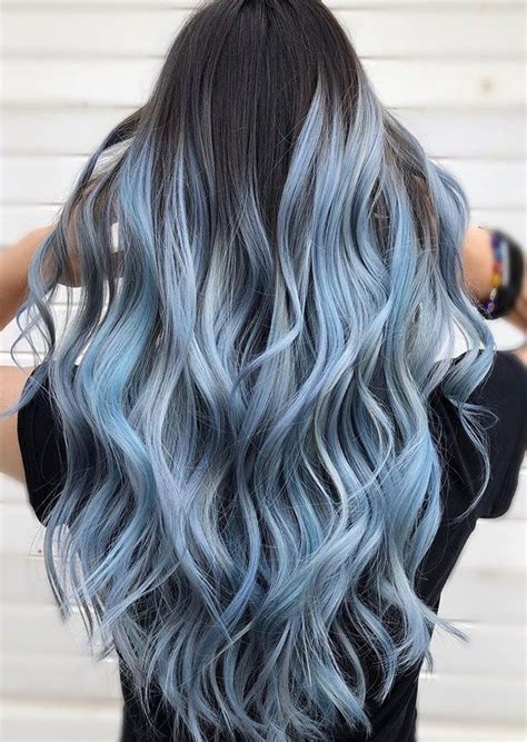 More discreet than tie and dye, less classic than sweeping, this new technique of hair. Black Hair With Beautiful Highlights Ideas | Hair color ...