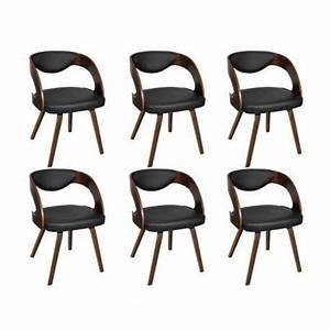 Chaise Salon Design : chaises design de salon salle manger marron x2 maja achat vente chaise salle a manger ~ Teatrodelosmanantiales.com Idées de Décoration