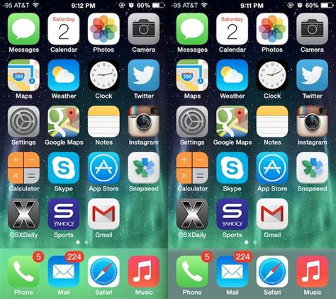 change  dock color appearance  ios