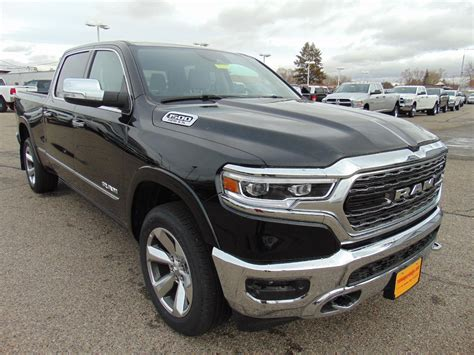 new 2019 ram all new 1500 limited crew cab in idaho falls r518960 sayer s chrysler jeep dodge