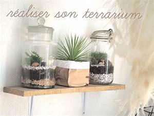 Terrarium Plante Deco : comment fabriquer son terrarium la maison diy ~ Dode.kayakingforconservation.com Idées de Décoration