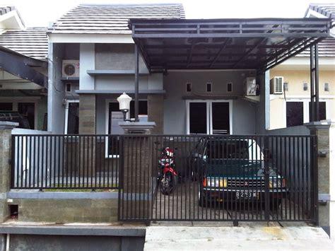 gambar desain pagar besi rumah minimalis desain rumahku