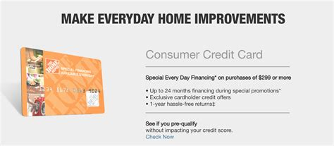The home depot consumer credit card is one of many financial services home depot provides, and this card is a good option for anybody who makes regular and significant purchases at this store chain. The Home Depot Credit Cards Reviewed - Worth It? 2020