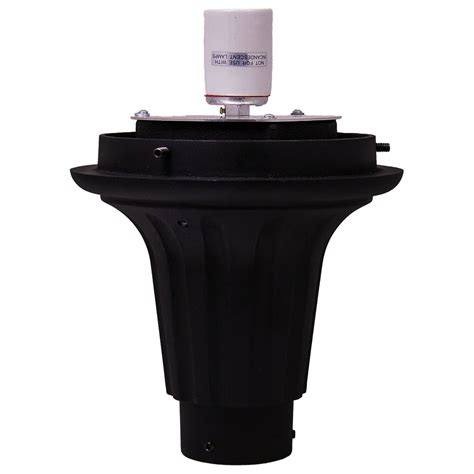 l post top fitters 8 inch cast aluminum post top fitter