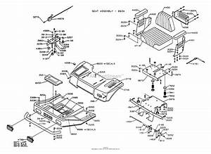 Dixon Ztr 4422  1995  Parts Diagram For Body Assembly
