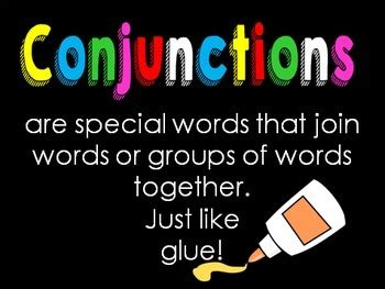 conjunctions powerpoint  printables  lindy du plessis