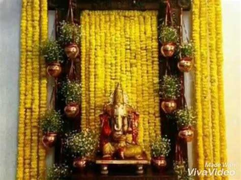 Ganapati Decoration Ideas - ganesha decoration ideas from ganesh chaturthi