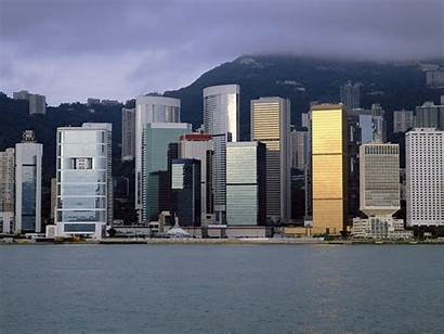Skyline Hong Kong Admiralty Wallpapers 2009 Cityscapes