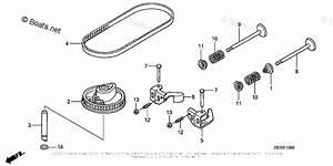 Honda Small Engine Parts Gcv190 Oem Parts Diagram For
