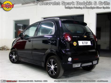 Chevrolet Spark Modification by Pictures Of Chevrolet Spark Mods Team Bhp
