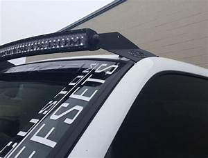 2003 Ford F150 Light Bar Brackets 50 Inch Olb Single Led Light Bar Roof Mounts Many Makes
