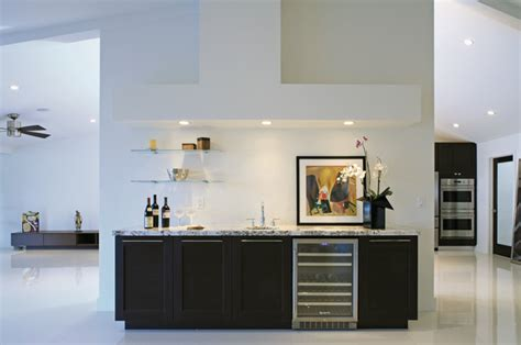 modern kitchen designs images bar cabinetry modern home bar new york by 7694