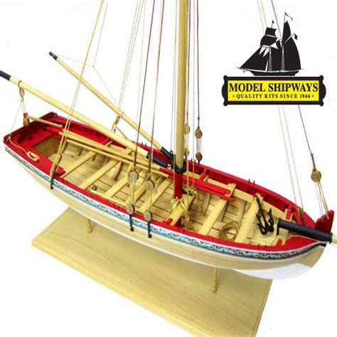 Whaling Longboat by Model Expo 18th Century Longboat 1 4 Scale