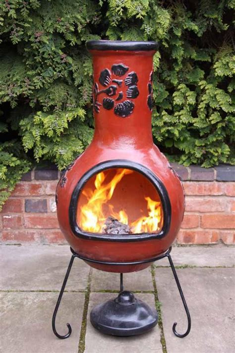 Curing Chiminea by Our Review Of The Best 2 Clay Chimineas