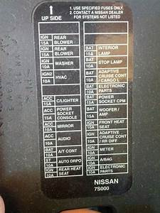 2003 Nissan Frontier Fuse Box  U2022 Wiring Diagram For Free
