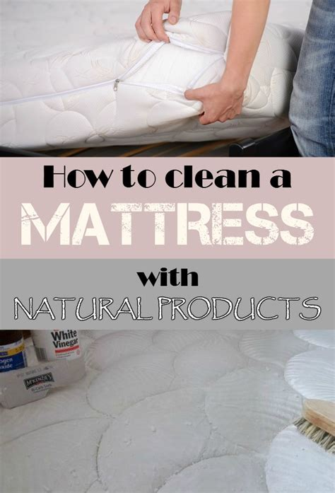 how to clean mattress how to clean a mattress with products