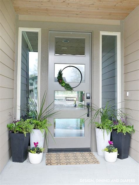 front door planters ideas front porch planter ideas get your porch ready for spring