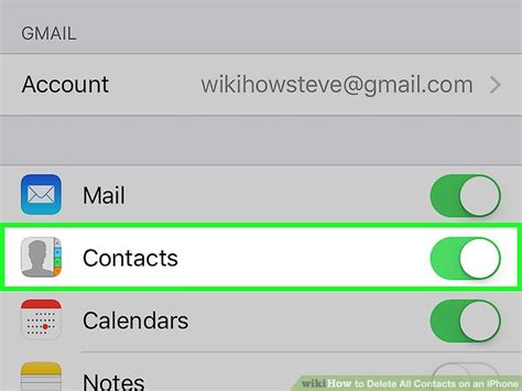 how to delete contacts from iphone 5 3 easy ways to delete all contacts on an iphone wikihow 3286