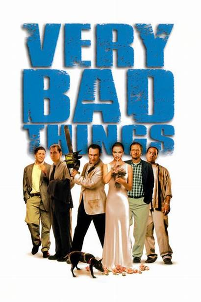 Bad Very Things 1998 Film Poster Slater