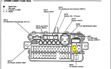 97 Honda Accord Fuse Box Location by 95 Ej1 Has A D15z1 Not D16z6 And It Has Issues Page 4
