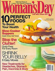 Womans Day June 2008 cover | Gina Roberts-Grey ~ Freelance ...