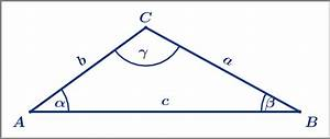 Fehlende Größen Im Dreieck Berechnen : trigonometrie berechnungen am allgemeinen dreieck ~ Themetempest.com Abrechnung