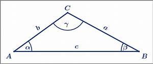 Trigonometrie Seiten Berechnen : trigonometrie berechnungen am allgemeinen dreieck ~ Themetempest.com Abrechnung