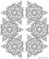Coloring Mandala Adult Adults Intricate Chandelier Template Printable Patterns Doodle Zen Pdf Mandalas Doodling Visit sketch template