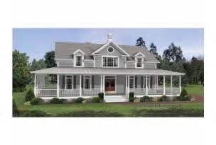 farmhouse plans with porches eplans colonial house plan irresistible wraparound porch