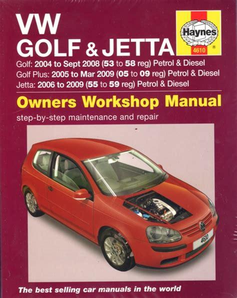 vw golf jetta petrol diesel   haynes service