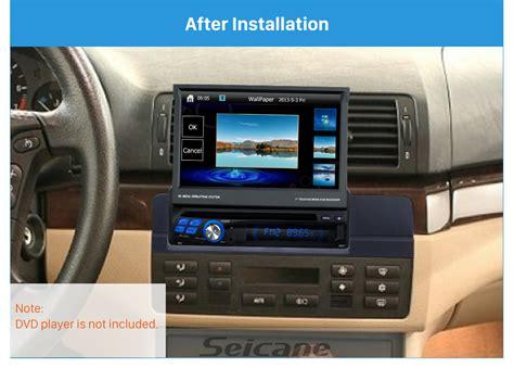 airbag deployment 2002 bmw 3 series navigation system car stereo radio fascia panel installation kit for bmw 3 e46 03 2005 1 din frame ebay