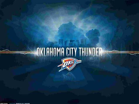 nba oklahoma city thunder logo  desktop nba