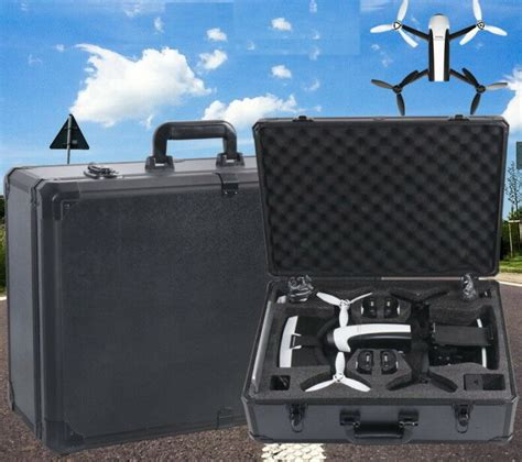 professional hard suitcase storage box carrying case  parrot bebop   drone twitmarkets