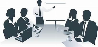 Clipart Office Management Business Presentation Clip Meeting