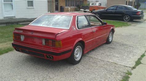 1985 Maserati Biturbo by 1985 Maserati Biturbo Factory Service Manual 1985
