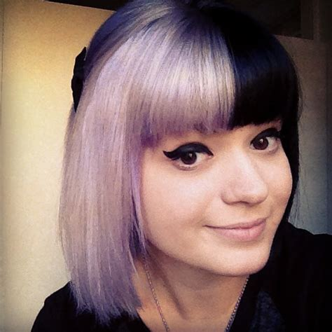 Color Hairstyles by 25 Amazing Two Tone Hair Styles Trendy Hair Color Ideas