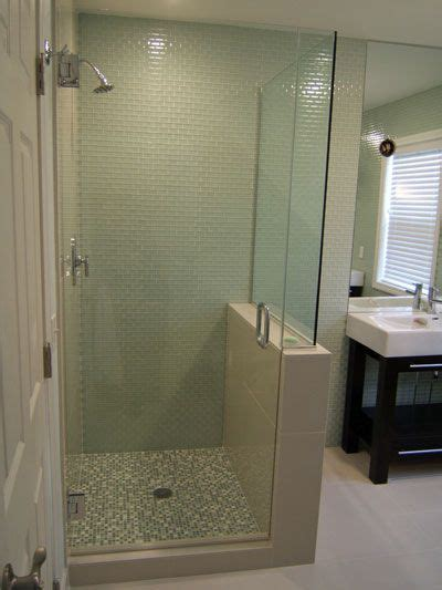 separating room ideas half wall shower enclosures belfast four enclosure