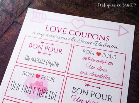 un fait l amour dans la cuisine des bons d 39 amour à imprimer pour la valentin