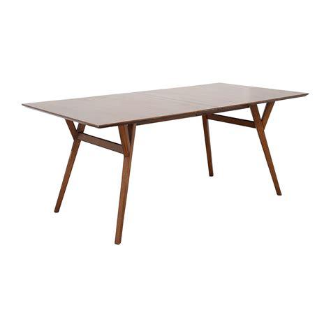 west elm mid century table 63 off west elm west elm mid century large expandable