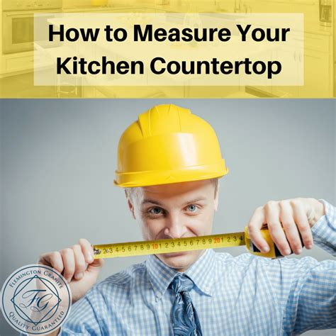 how to measure kitchen countertops how to measure your kitchen countertop flemington granite